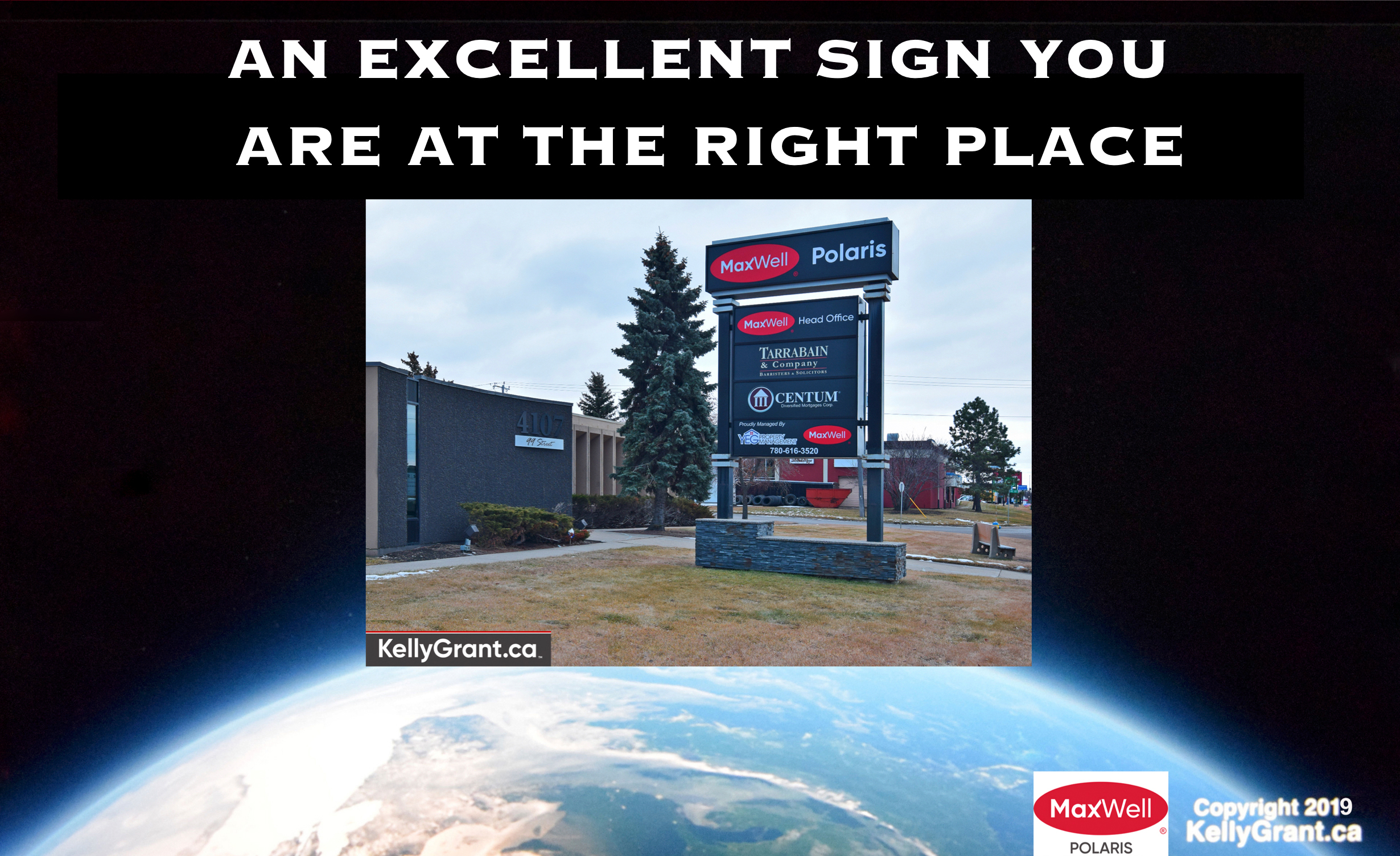 An Excellent Sign you are at the Right Place