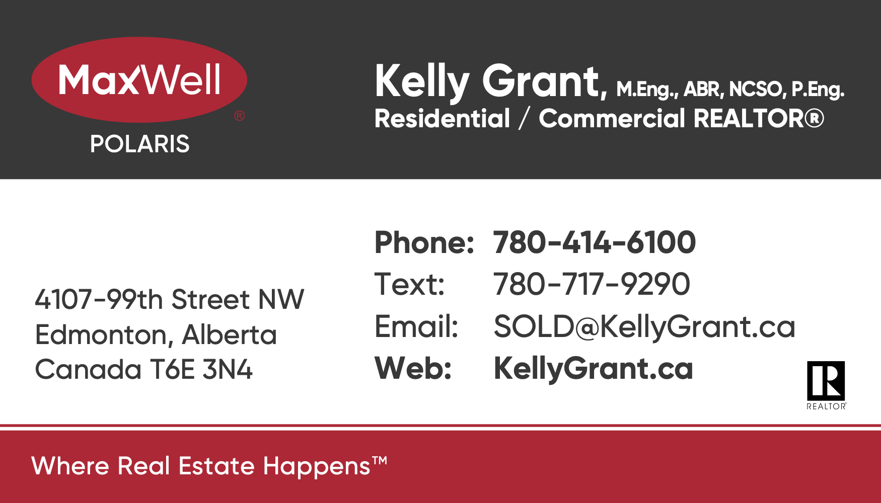 Kelly Grant MaxWell Business Card 3