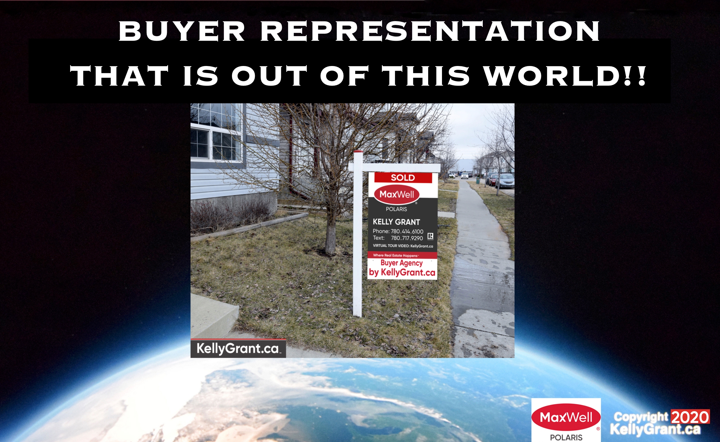 Kelly Grant MaxWell Buyer Representation That is Out of This World