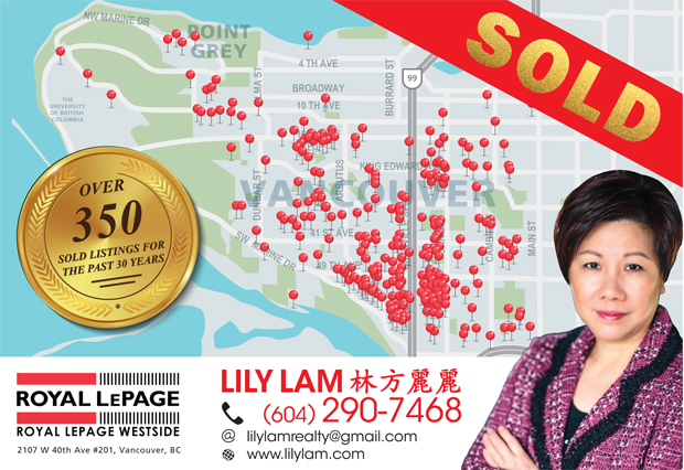 Lily's Sold Listings Over the Years