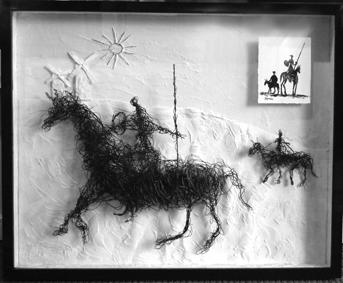Don Quijote de la Mancha framed.jpg
