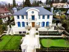 Shaughnessy House for sale:  5 bedroom 6,378 sq.ft.