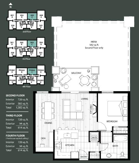 The Ivy floorplan 3