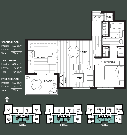 The Ivy floorplan 5