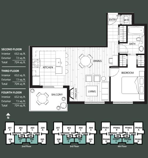 The Ivy floorplan 5