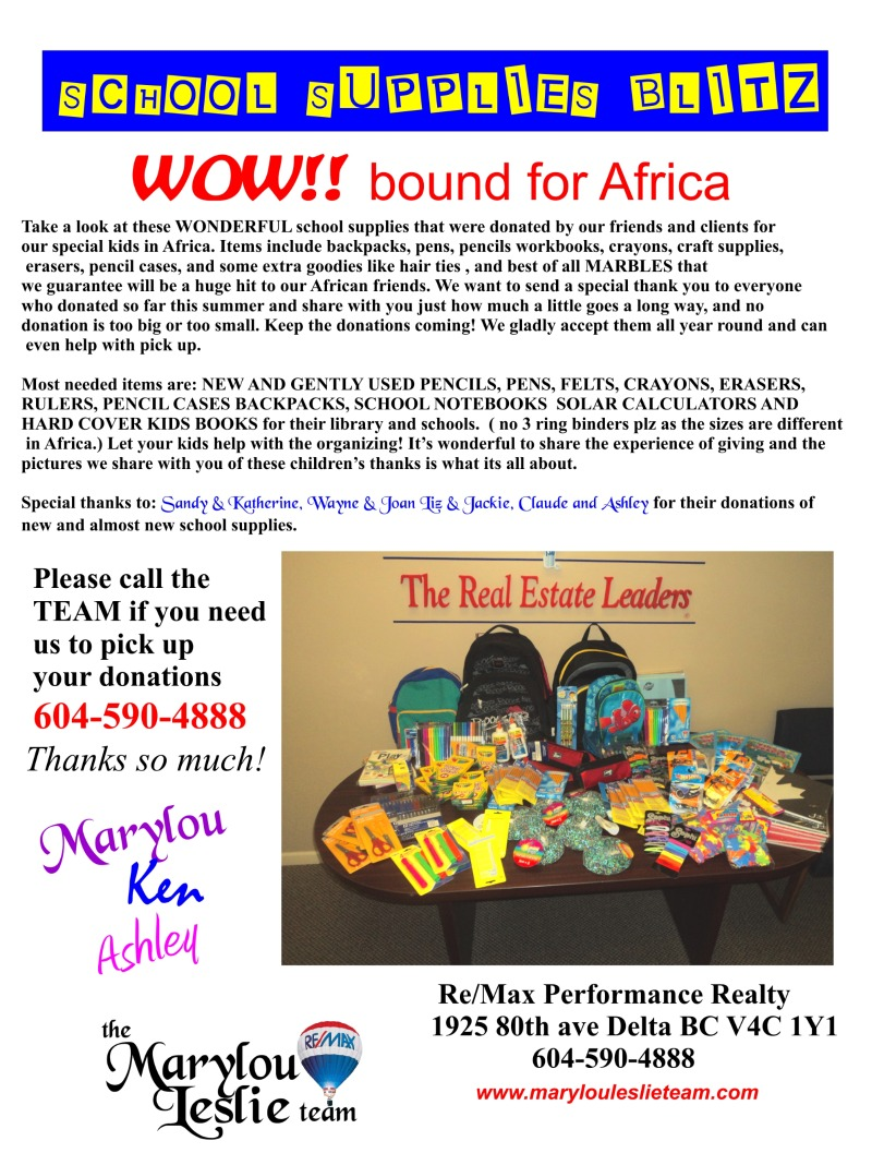 Africa Goodies from our Clients