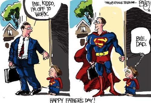 Happy Fathers Day Cartoon