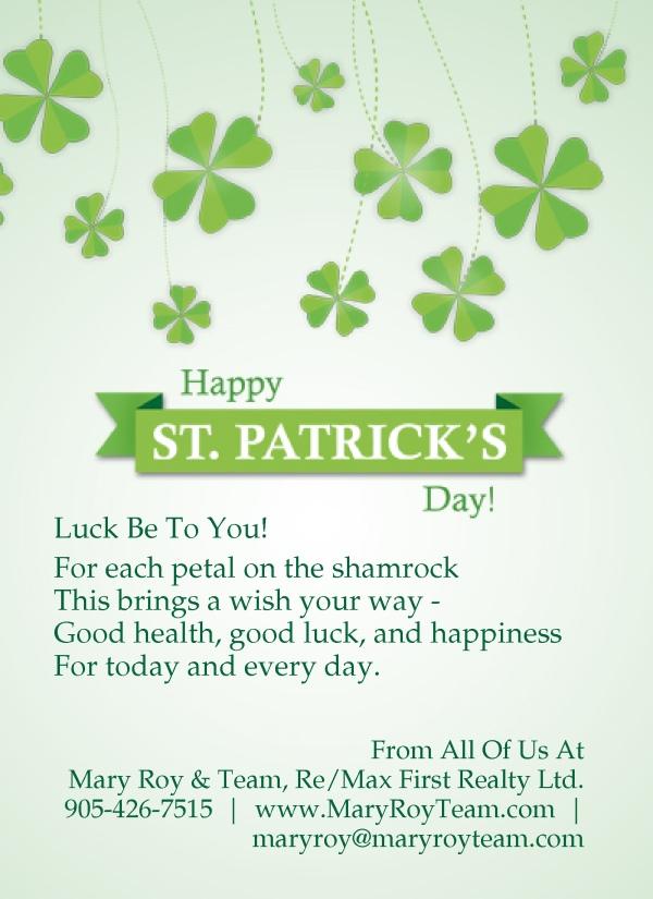 St Patrick's Day 2013
