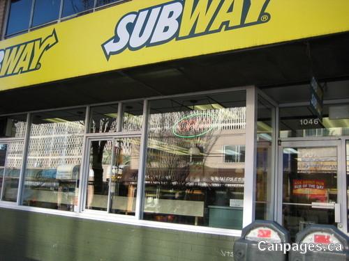 Subway 1046 Davie Street