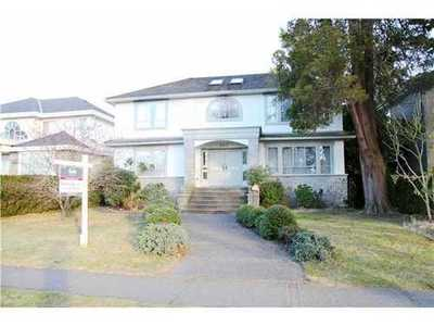 South Granville House for sale:  6 bedroom 4,500 sq.ft. (Listed 2014-02-13)
