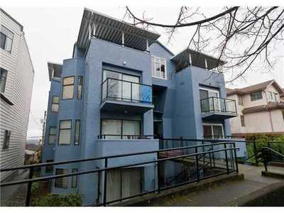 Mount Pleasant VE Condo for sale:  1 bedroom 560 sq.ft. (Listed 2014-02-19)