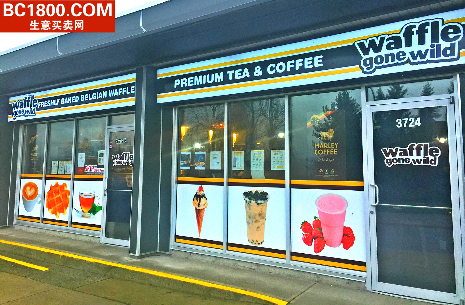 Burnaby Restaurant for sale:    (Listed 2018-01-24)