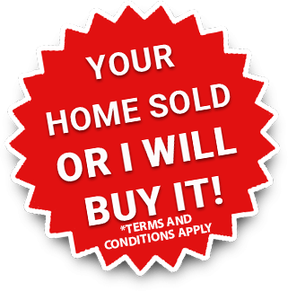 Mike Gustus Your Home Sold Or I will Buy It Logo