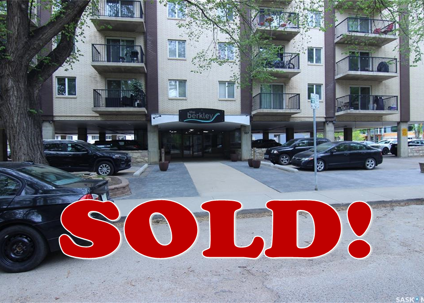 Saskatoon Apartment for sale:  1 bedroom 732 sq.ft. (Listed 2020-05-30)