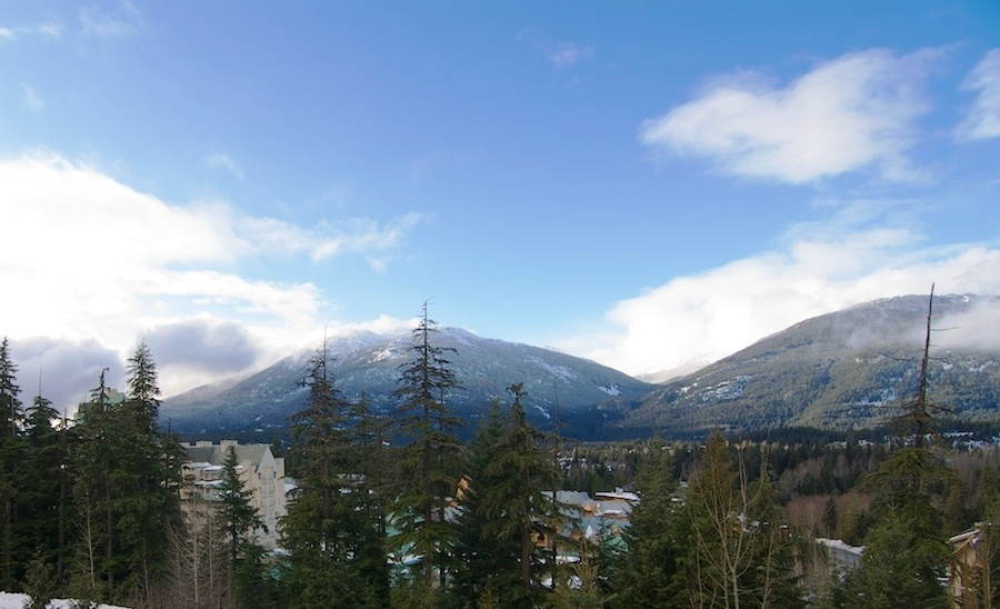 Whistler condo for sale 506 Marquise view