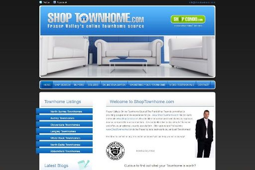 shoptownhome screenshot