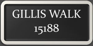 gillis walk button