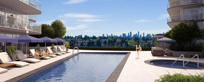 Burnaby Apartment for sale: �toile Residences 1 bedroom 729 sq.ft. (Listed 2020-03-30)