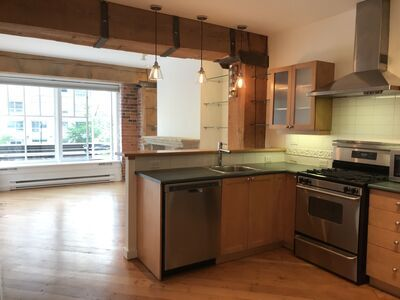 Yaletown Apartment for rent: The Hamilton 1 bedroom 650 sq.ft. (Listed 2020-06-01)