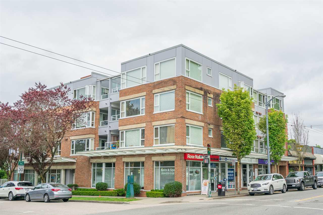 Condo building in Kerrisdale, Vancouver