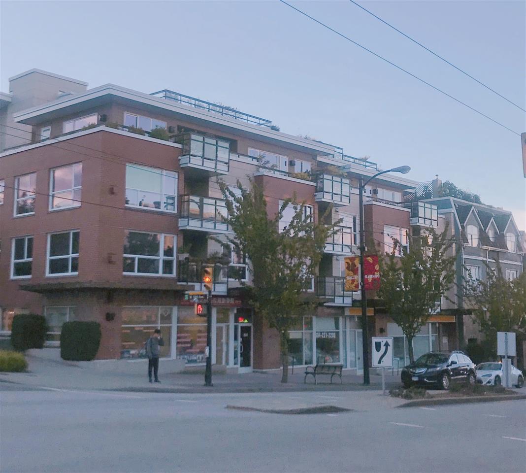 Condo building in Kitsilano, Vancouver