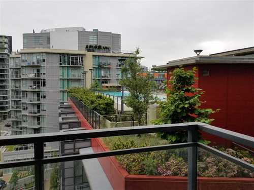 View from condo for sale in Olympic Village