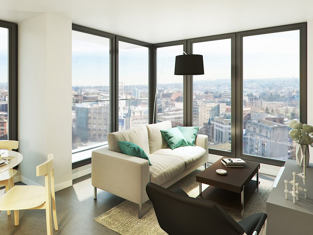 Downtown Condo for sale:  1 bedroom 505 sq.ft. (Listed 2017-09-29)
