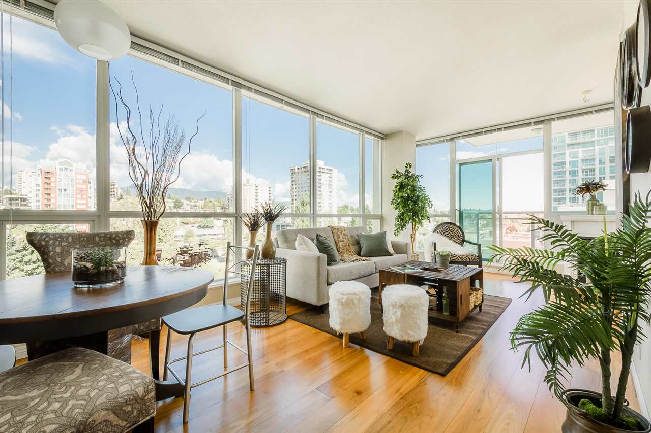 Lower Lonsdale Condo for sale:  1 bedroom 712 sq.ft. (Listed 2017-11-08)