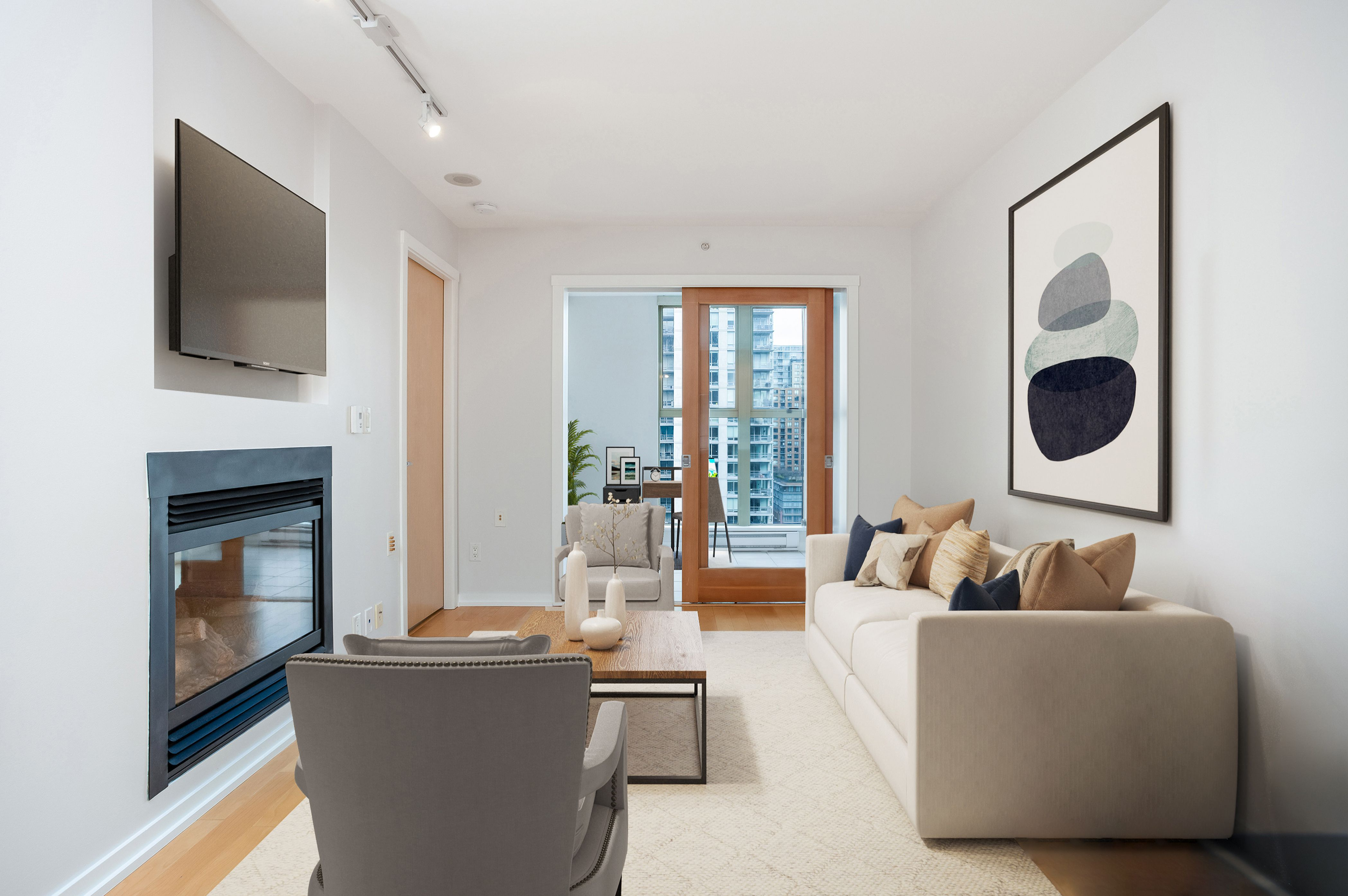 Vancouver Condo for sale:  1 bedroom 595 sq.ft. (Listed 2021-02-01)