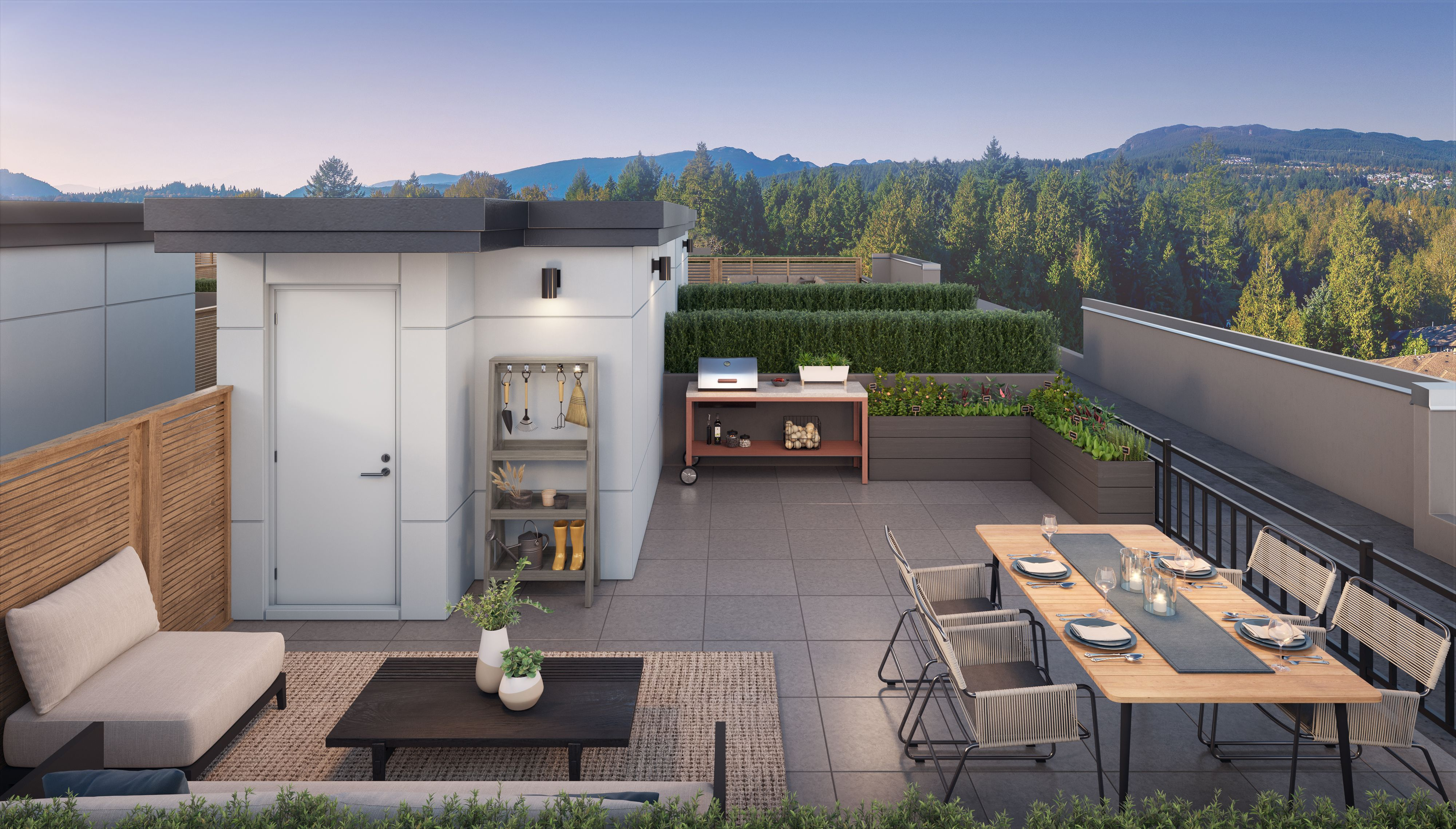 Port Moody Rooftop Penthouse for sale:  4 + Den 1 sq.ft. (Listed 2021-02-23)