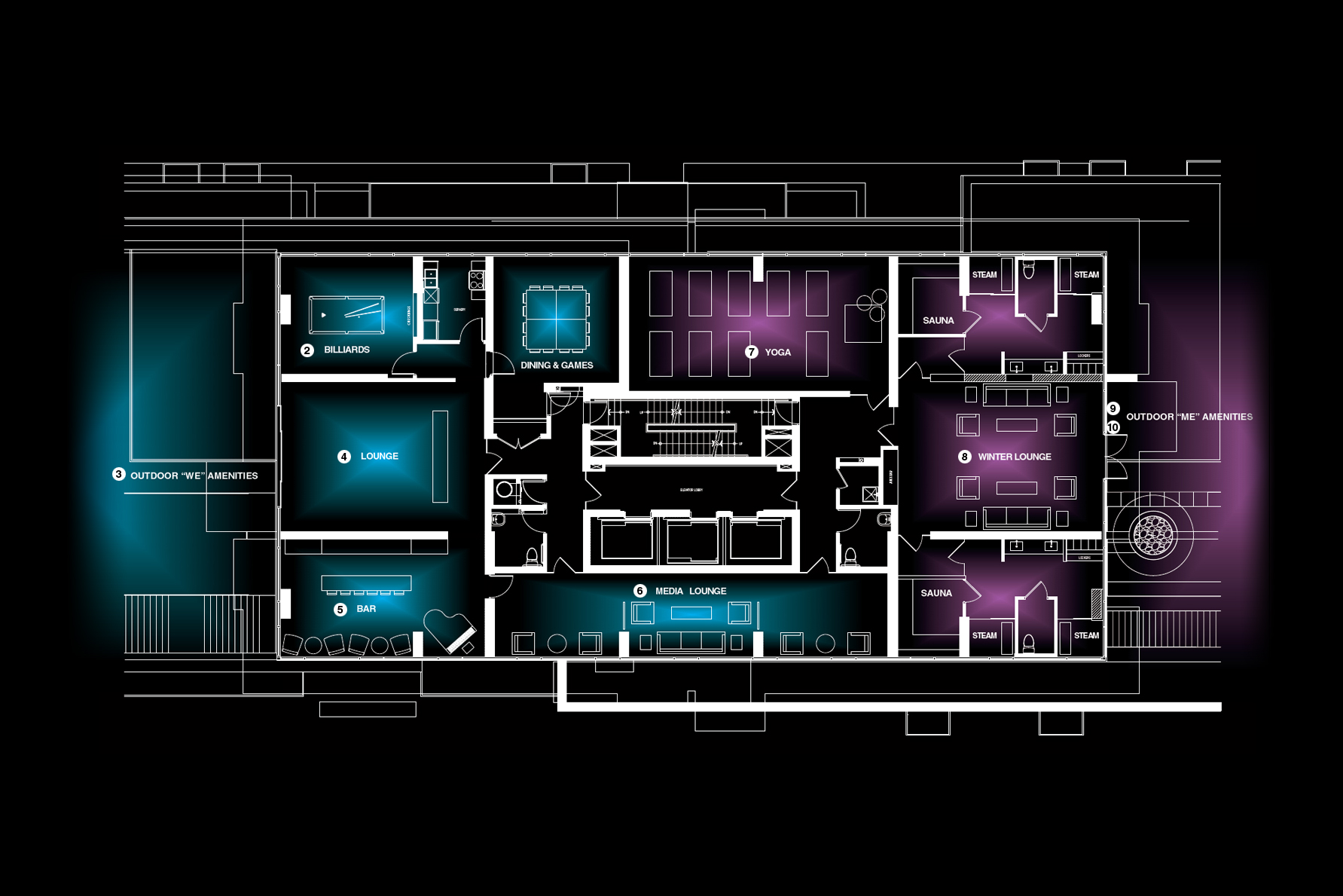 Richmond Tower floorplan