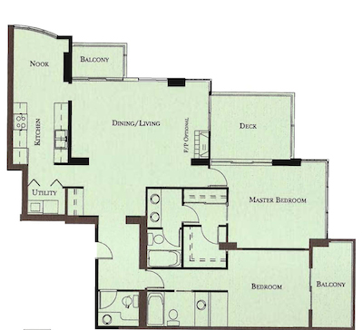 Floorplans For The Camelot 14820 104th Avenue Surrey Bc