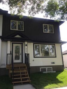 Alberta Avenue Half Duplex for sale:  3 bedroom 1,260.46 sq.ft. (Listed 2020-10-07)
