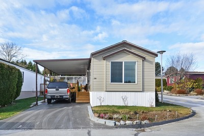 South Surrey Manufactured Home with Land for sale: Sea Ridge Bays 2 bedroom 858 sq.ft. (Listed 2019-05-29)