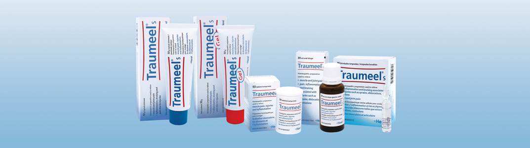 Traumeel Family of Products in Vancouver