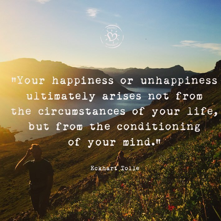 MONDAY MOTIVATION: Positive Thoughts via Project Happiness, Hycroft Chiropractic & Massage in Vancouver