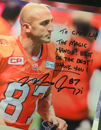 Marco Iannuzzi - wide receiver, BC Lions