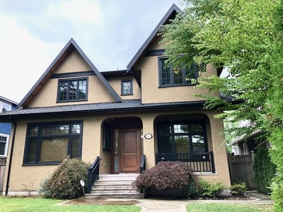 Shaughnessy House for sale:  5 bedroom 4,374 sq.ft. (Listed 2019-09-20)