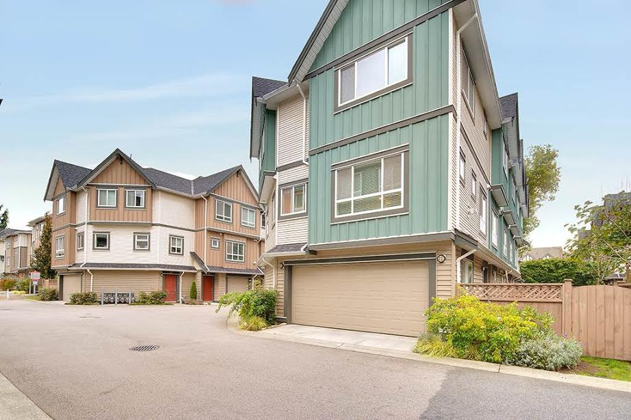 Richmond Townhouse for sale:  3 bedroom 1,352 sq.ft. (Listed 2016-10-03)