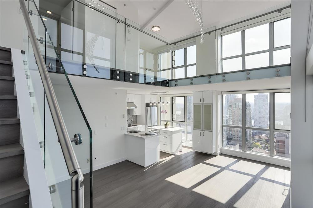 Interior of Pacific Point 111 by Bosa Vancouver Condo