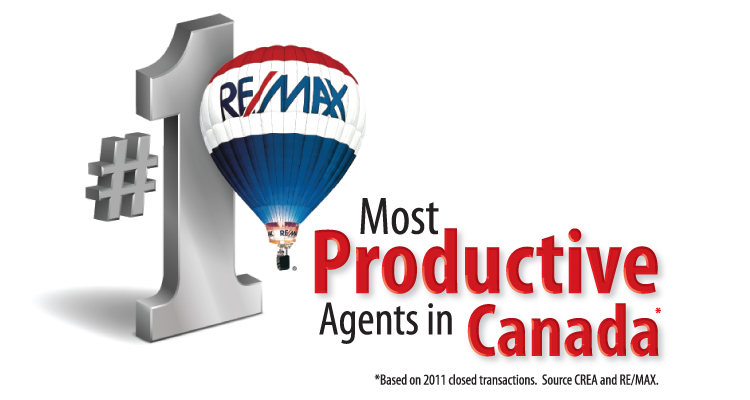 REMAX most productive agents in Canada