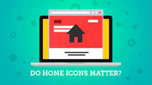 Do home icons matter on a site