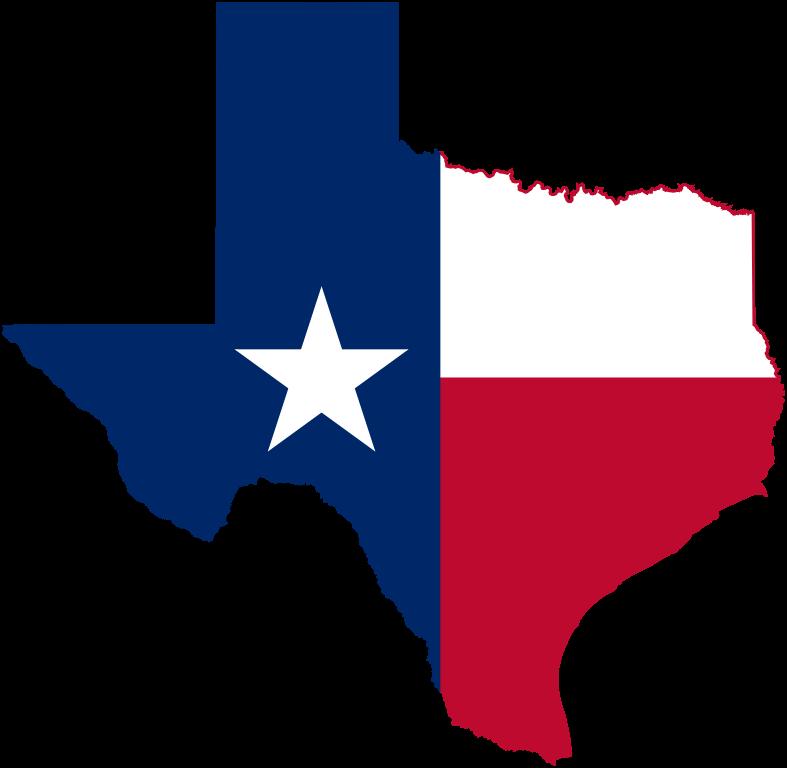 Texas Flag Map Crew