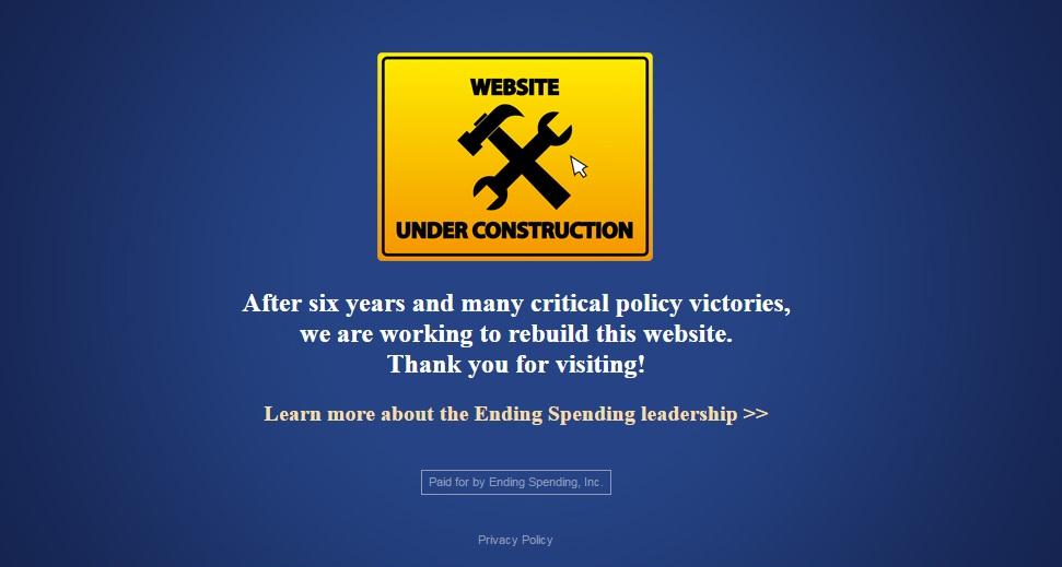 Ending Spending Under Construction