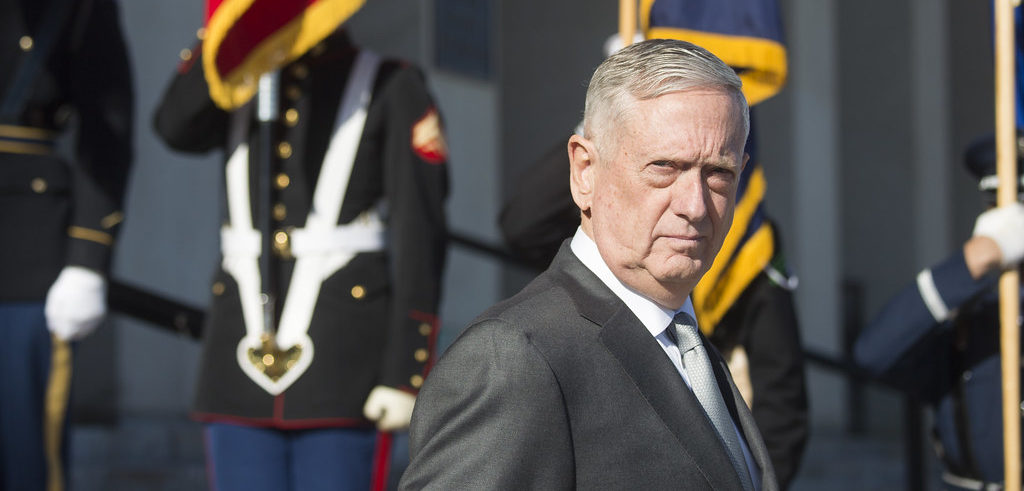 Mattis Joins Board of Contractor Profiting from Zero Tolerance Policy - CREW