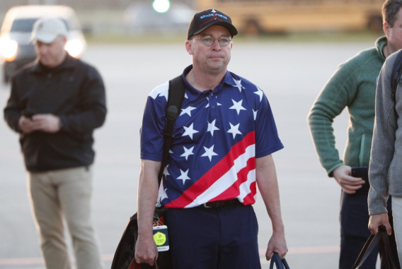 Mick Mulvaney Wore A Space Force Hat. It Could Get Him In Trouble. - CREW