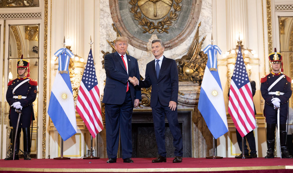 US Held Off on Tariffs while Argentina Reviewed Trump Trademarks - CREW