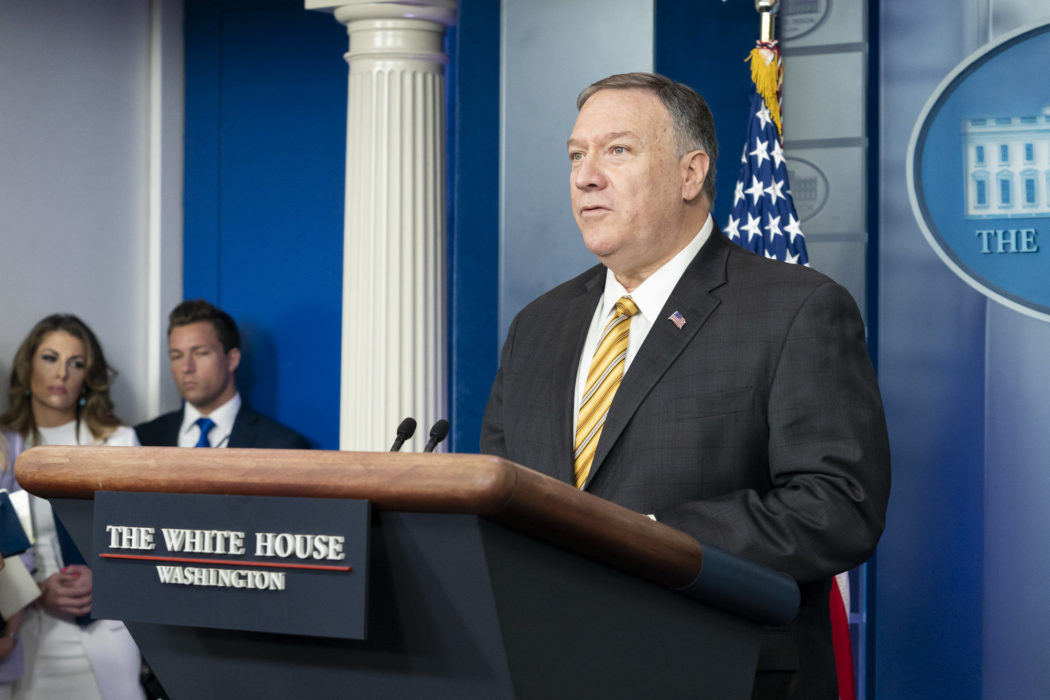CREW Requests State Documents on Pompeo's Madison Dinners - CREW