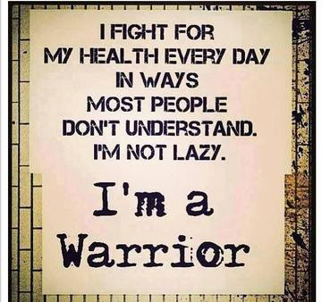 Wall_i_fight_for_my_health_everyday__i_am_a_warrior