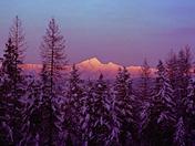 Fisher Peak Alpenglow